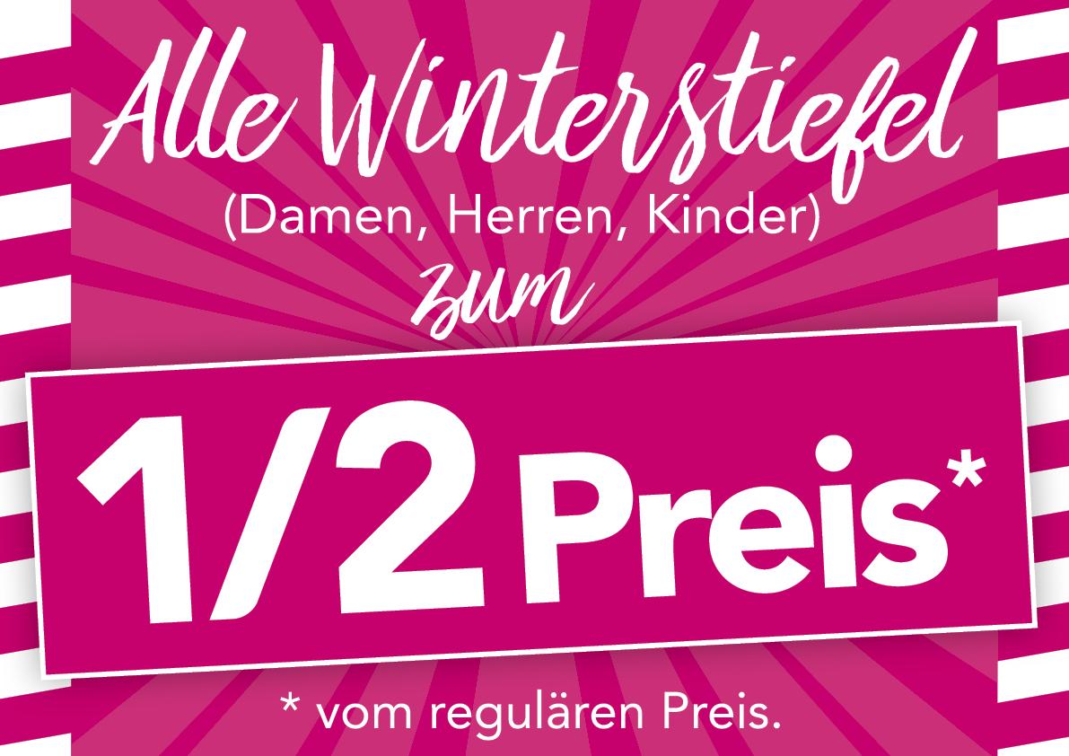 Alle Winterstiefel zum halben Preis! – KERNSCHUHE